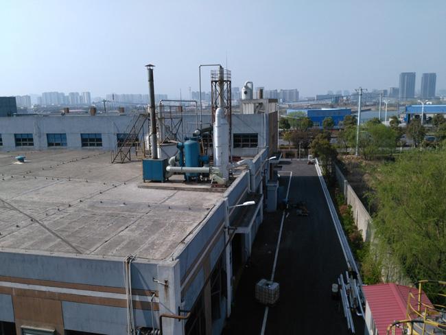 苏州某城市污泥处理厂臭气