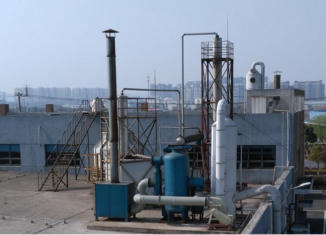 苏州某城市污泥处理厂臭气  (2)