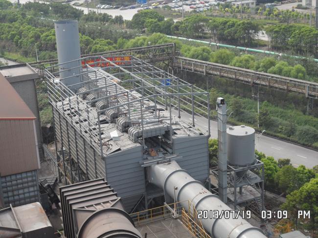 韩国某钢铁厂