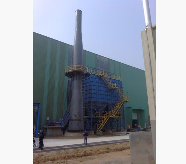 山东日照某钢铁厂除尘