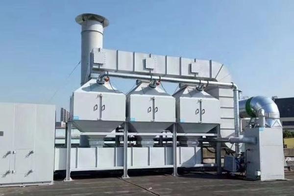 催化燃烧VOCs废气处理设备是怎么安装的?要注意哪些细节?